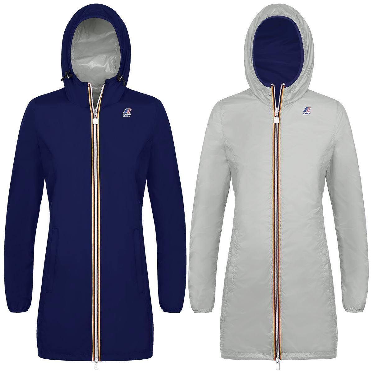 a basso prezzo 8ff7e 95df7 Reversible Jacket 3/4 Women K-way Article k003ez0 Mod. Virginie ...