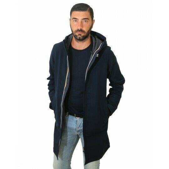 K008JZ0 K-Way Thomas Bonded Jackets Long Uomo MOD